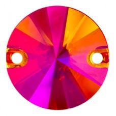 3200 Swarovski Кристалл пришивной Rivoli 10 мм Astral Pink