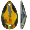 3230 Swarovski Кристалл пришивной Drop 12x7 мм Crystal Vitrail Medium