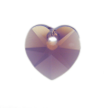6228 Swarovski подвеска Сердце 14,4x14 мм Cyclamen Opal