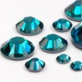 Стразы ногтевые Swarovski Blue zircon ss5, 10 шт