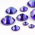 Стразы Swarovski Sapphire ss12 hotfix, 10 шт