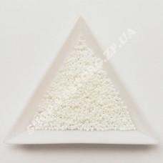 Бисер микро Preciosa 57102 белый полупрозрачный 13/0, 5 г