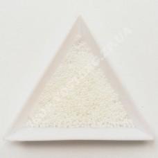 Бисер микро Preciosa 46102 белый перламутровый 13/0, 5 г