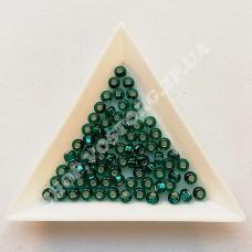 Бисер Preciosa 57710 изумрудный блестящий 6/0 квадратное отверстие, 5 г