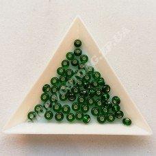 Бисер Preciosa 57060 зеленый насыщенный 6/0, 5 г