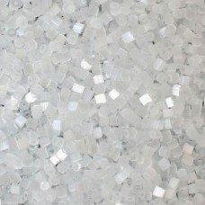 Рубка Preciosa 05051 прозрачный снежный сатиновый, 5 г