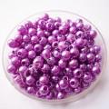Бусина жемчуг 4 мм фиолетовый, 100 шт