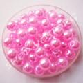 Бусина жемчуг 6 мм бледно-розовый, 10 шт