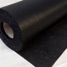 Флизелин клеевой черный, 1 м