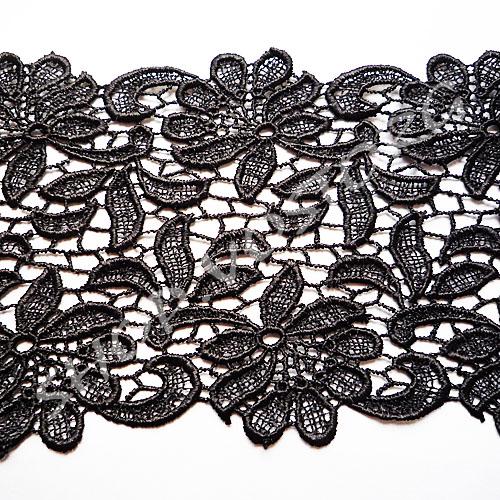 0094f1af972 Кружево плотное 10 см черное - магазин SHOP VOSTORG