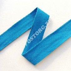 Лента киперная 2 см голубая, 1 м
