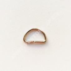 Полукольцо 13 мм никель