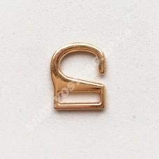 Крючок на пряжку 1,2 см золотистый