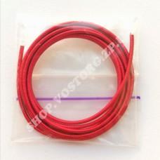 Канитель жесткая 1.2 мм красная, 5г