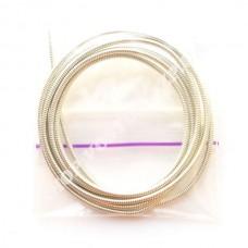 Канитель жесткая 1.2 мм серебро, 5г