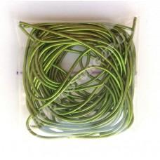 Канитель мягкая 1 мм зеленая, 5г