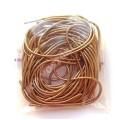 Канитель мягкая 1 мм коричневая, 5г