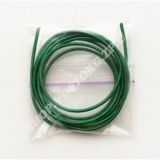 Канитель жесткая 1.2 мм зеленая, 5г