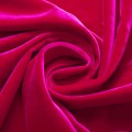 Бархат красный, отрез 30х50 см