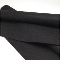 Фетр 1 мм черный 20х30 см