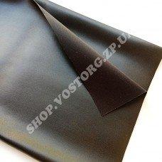 Кожзам черный, отрез 30х50 см