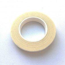 Флористическая лента 13 мм белая, рулон