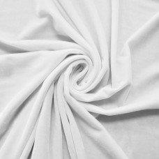 Бархат белый, отрез 30х50 см