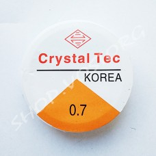Эластомерная нить 0.7 мм прозрачная, катушка ок. 7 м