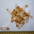 Булавки английские 2 см золотистые, 50 шт
