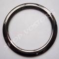 Кольцо 64 мм черный никель