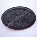 Термоаппликация ОК джинс 3,5х5 см