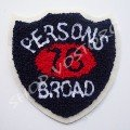 Аппликация вязка Persons 76 broad 9,5х9,5 см
