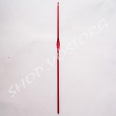 Крючок для вязания №2 цветное напыление