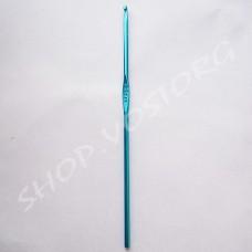 Крючок для вязания №3 цветное напыление