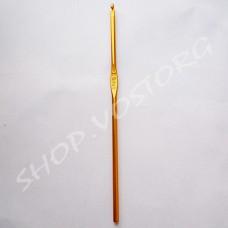 Крючок для вязания №3,5 цветное напыление