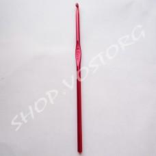 Крючок для вязания №4 цветное напыление