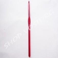 Крючок для вязания №4,5 цветное напыление