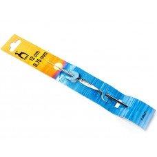 Крючок для вязания Pony #0.75 стальной